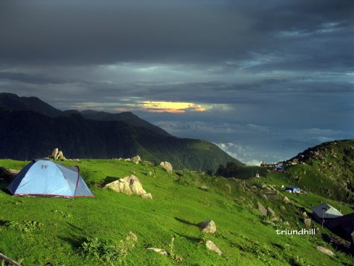 Triund Magic View in Monsoon