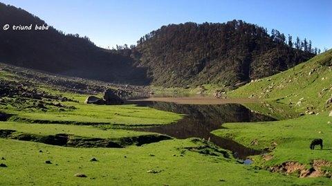 Kareri Lake in Dharamshala